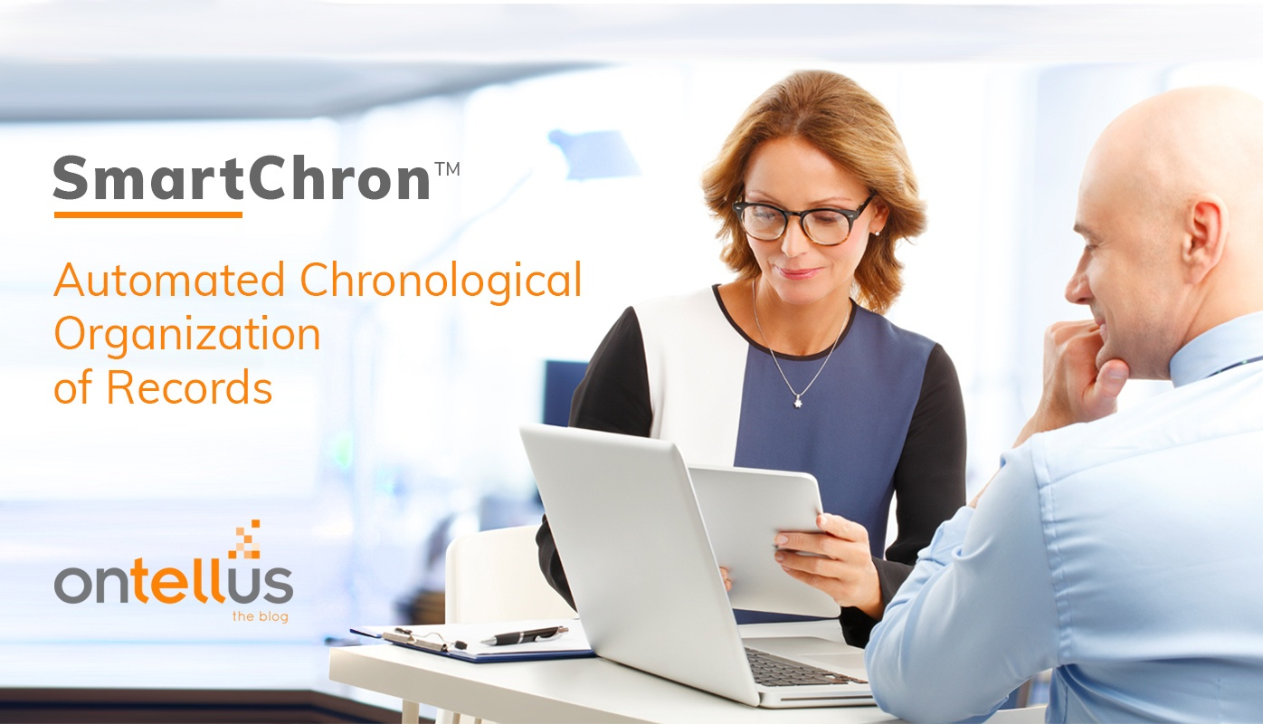 Ontellus SmartChron Automated Chronological Organiation of Records